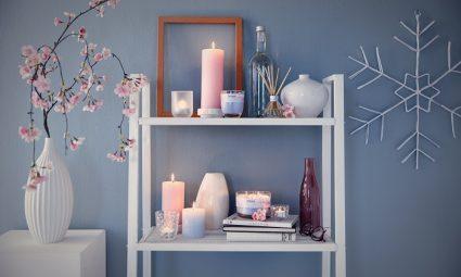 Bolsius Aromatic geurkaarsen en rustiek kaarsen