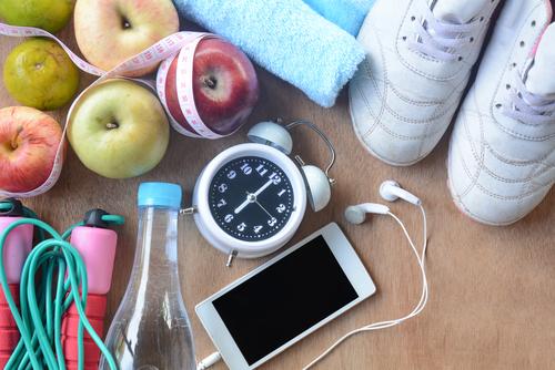 Voedingsschema combineren met fitnessen