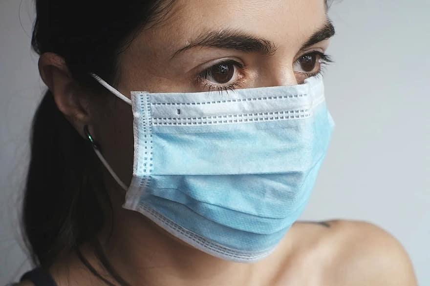Een beschermend mondkapje als uiting