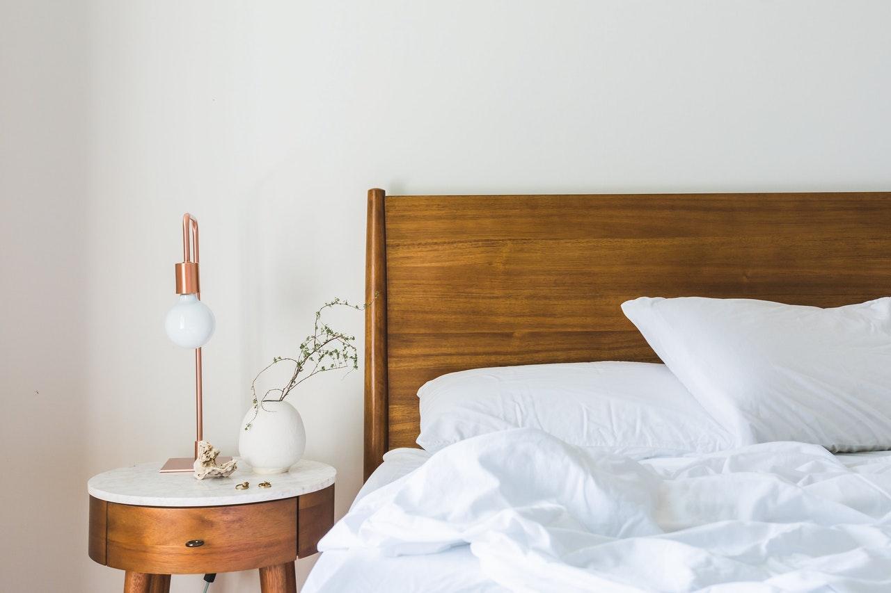 Vouwgordijnen voor de slaapkamer