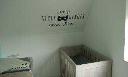 Leuke stickers voor de babykamer